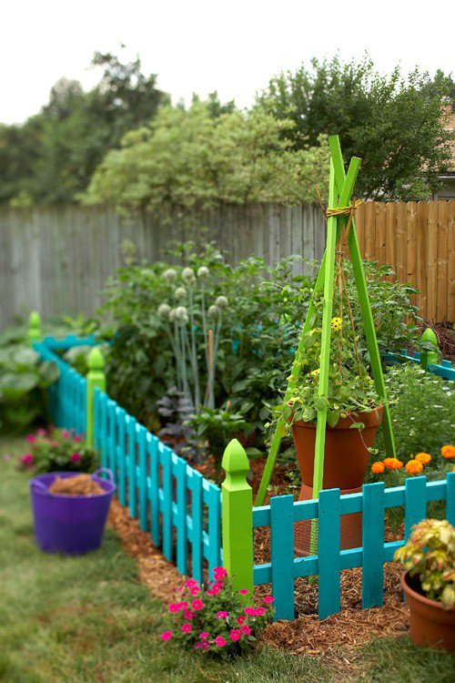 DIY Fence ideas, DIY Fence Projects and decoration ideas for garden landscape