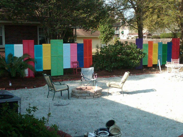 DIY repurposing shutters salvaged grace fence design projects and cool diy ideas