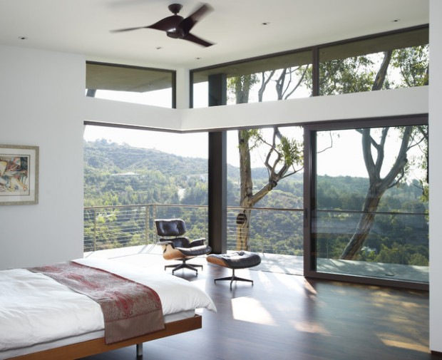 Dream bedroom with view
