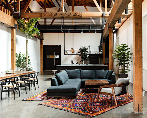 Industrial Living-Room desgin