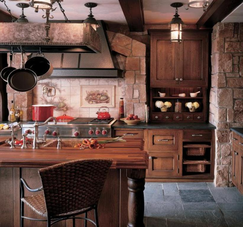 Rustick Kitchen island