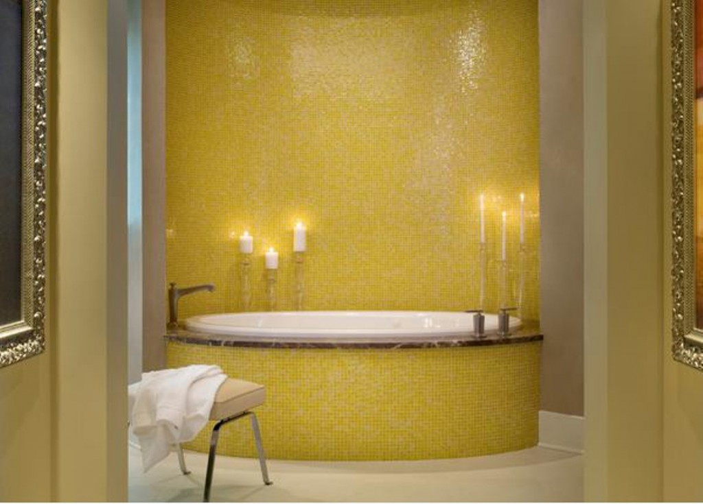 Sunny Yellow Bathroom