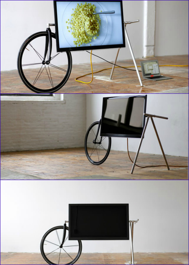 Unique Portable TV Stand