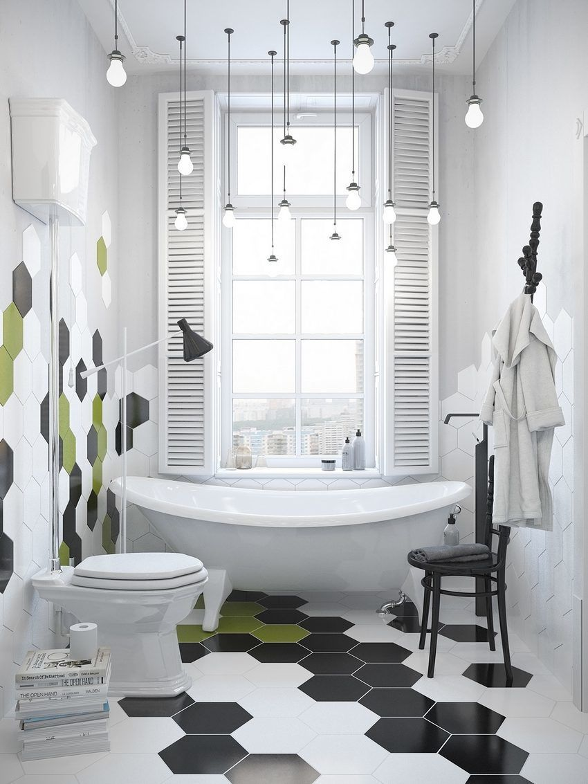 Beautiful Bathroom, A Scandinavian Home with Industrial Finds