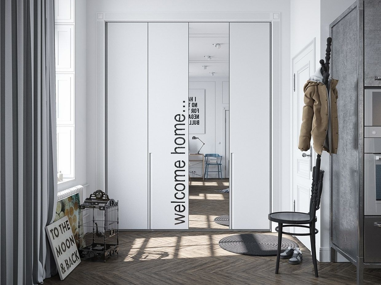 Beautiful Door, A Scandinavian Home with Industrial Finds