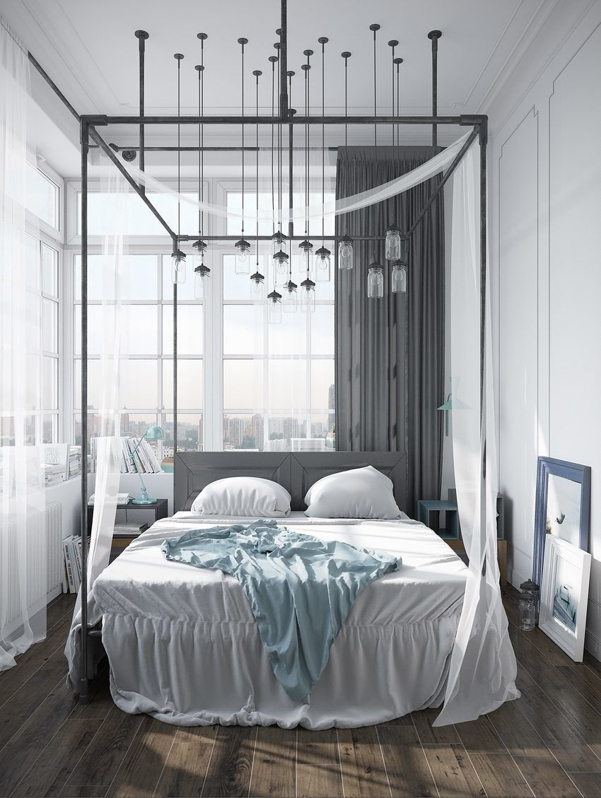 Dream Bedroom, A Scandinavian Home with Industrial Finds