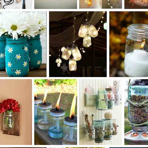 35+ Amazing DIY Mason Jar Projects You Must