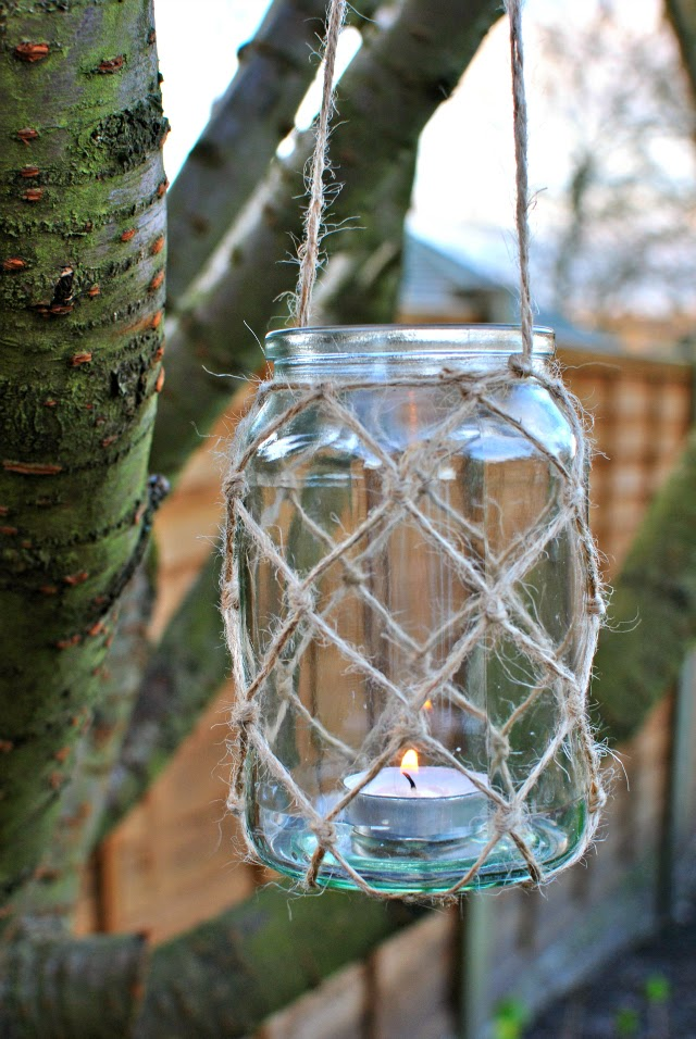 DIY Nautical Mason Jar
