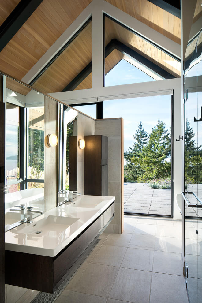 Bathroom, Collingwood Residence by Frits de Vries Architect