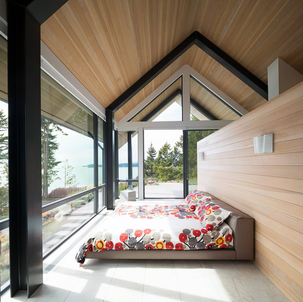 Bedroom Interior, Collingwood Residence by Frits de Vries Architect