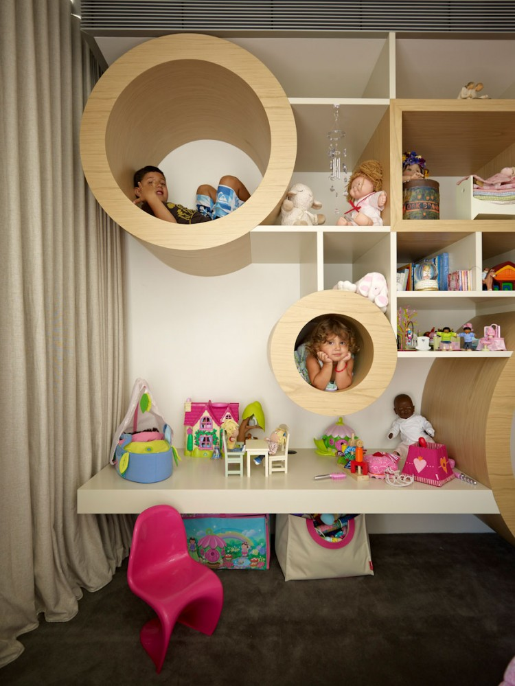 Kids Room, Vaucluse House by MPR Design Group