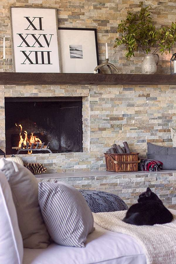 Amazing Fireplace, Cottage, Jenna Sue Design