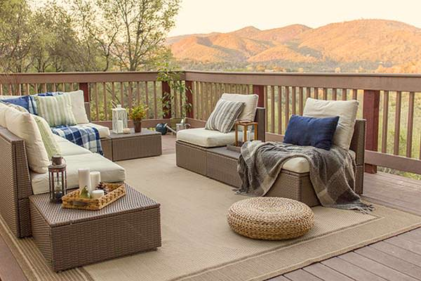 Amazing Terrace, Cozy Cottage, Jenna Sue Design