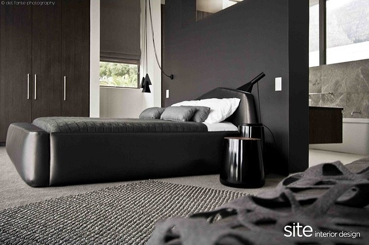 Amazing Bedroom, Aupiais house by site interior design