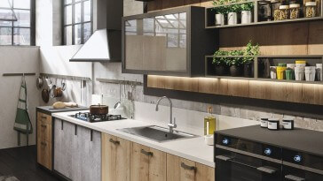 Amazing Industrial Kitchen