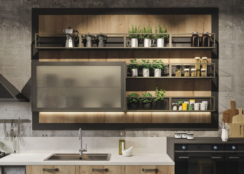 Dream Industrial Kitchen