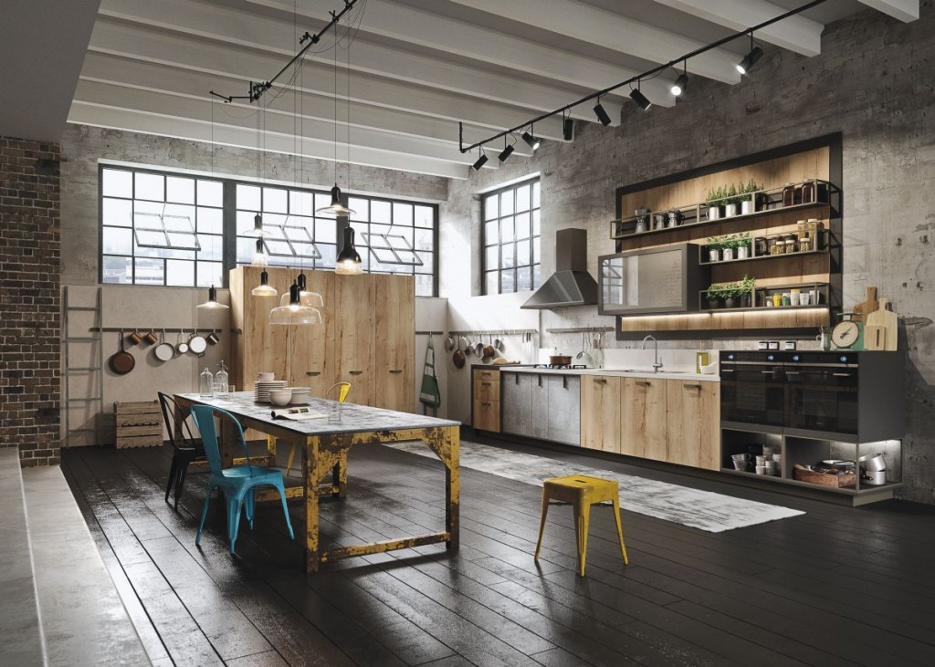 Dream Industrial Kitchen Decor