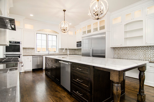 Luxury Custom kitchen by Cason Luxury Homes Dallas