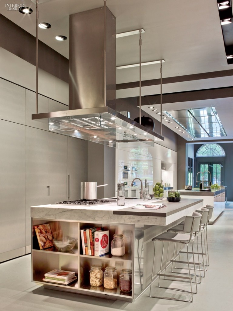 Modern and luxury kitchen design, Photography by Eric Laignel