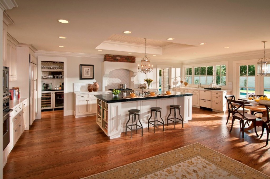 50 custom luxury kitchen designs wait till you see the 4 kitchen decorextra - Home plans with large kitchens ...