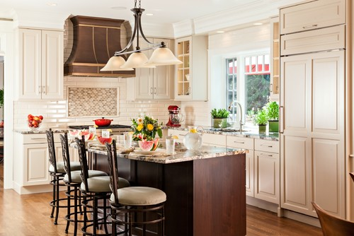 Warm and Welcoming Open kitchen by Cameron Snyder