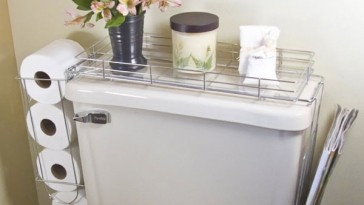 Clever DIY Bathroom Storage solutions to organize your bathroom
