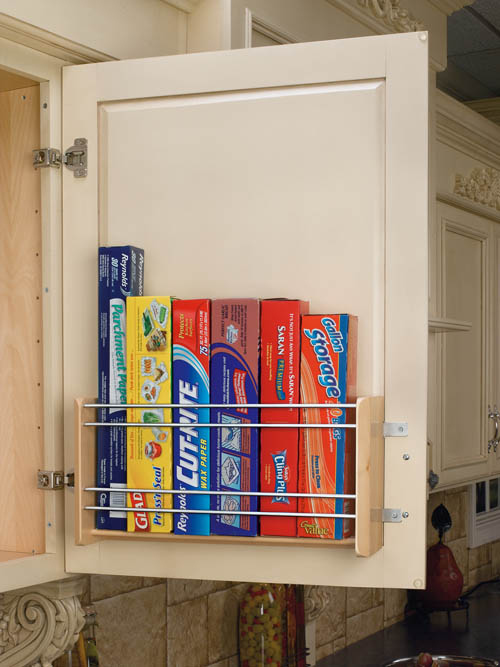 25 genius diy kitchen storage and organization ideas for Extra kitchen storage