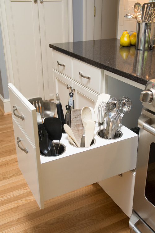 Creative Utensil Storage, Kitchen Storage and Organization Ideas