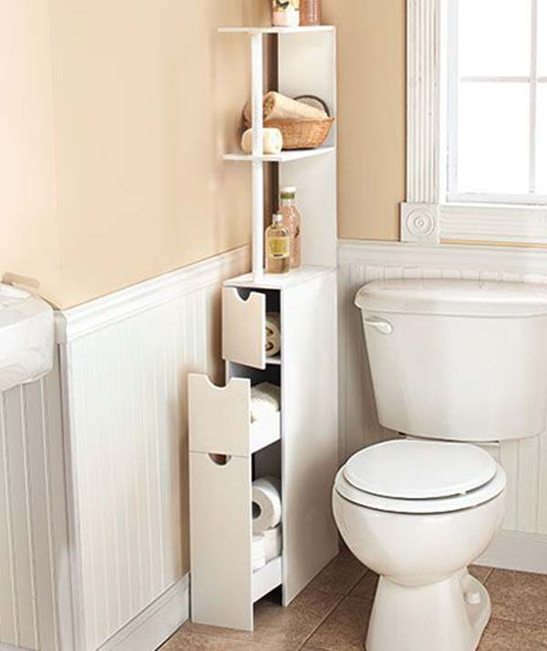 20 amazing diy bathroom storage ideas decorextra