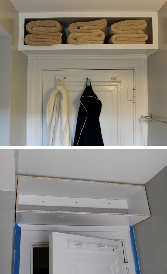 DIY Over the Door Bulk Storage