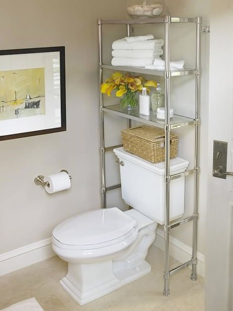 DIY Practical Bathroom Storage