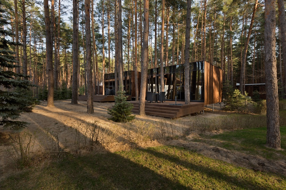Dream Guest Houses by YOD design-lab situated in the Poltava region, Ukraine