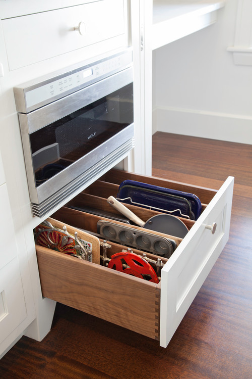 Under micro drawer dividers, Kitchen Storage and Organization Ideas