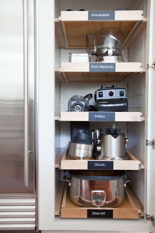 Roll Out Shelves For Tools!, Kitchen Storage And Organization Ideas