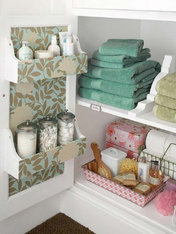 Well Organized Bathroom Cabinet