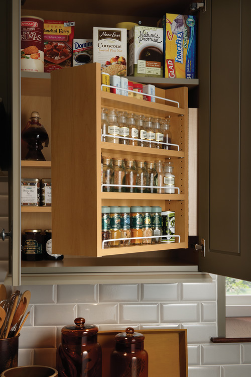 Wow! Swing-Out Spice Cabinet