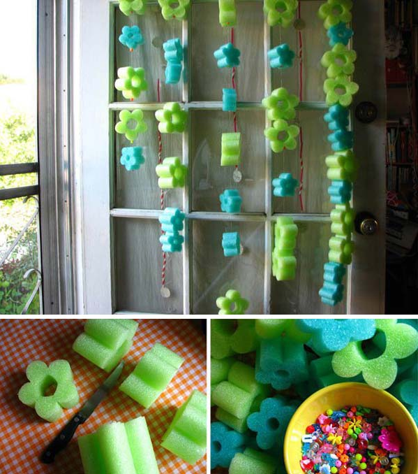 Another Amazing Idea using Pool Noodles