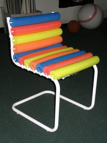 DIY Noodle Chair