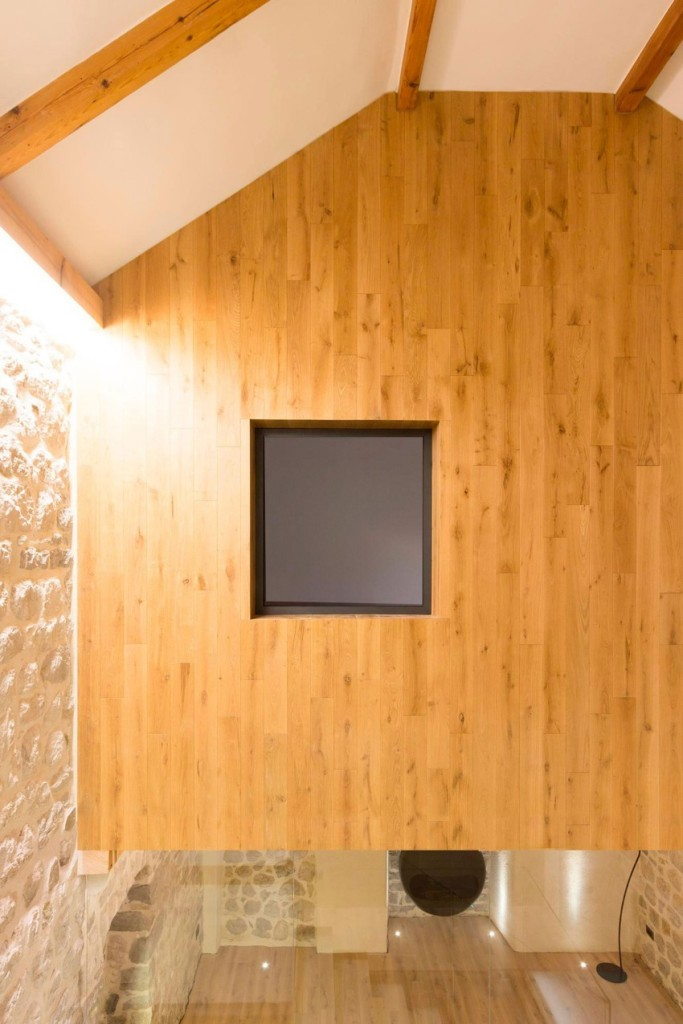 Wood walls, Reconstruction of a Villa in Ljuta by Enforma Studio