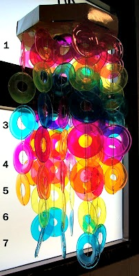 DIY Rainbow Suncatcher With Old CDs