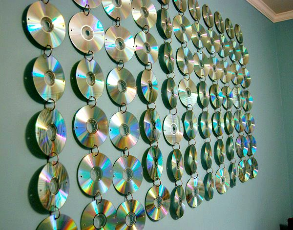 DIY Teen Room CD Hanging