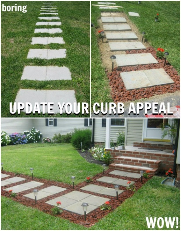 Image Result For Curb Appeal On A Budget Before And After Flower Beds