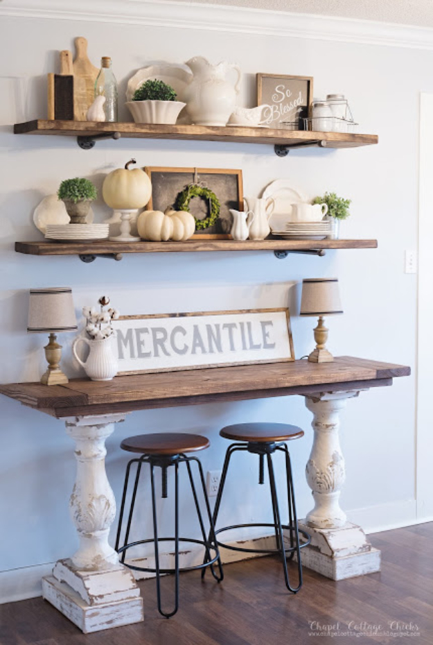 Add Farmhouse Style Buffet