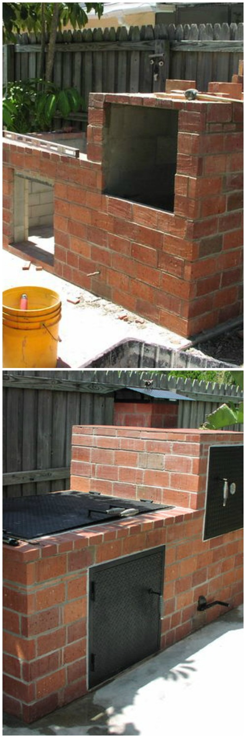 Brick Barbecue, DIY Yard Brick Projects