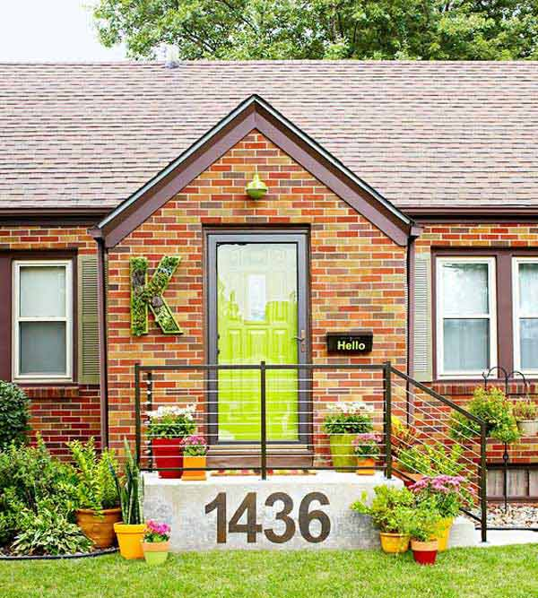 20 easy diy curb appeal ideas on a budget decorextra Curb appeal doors