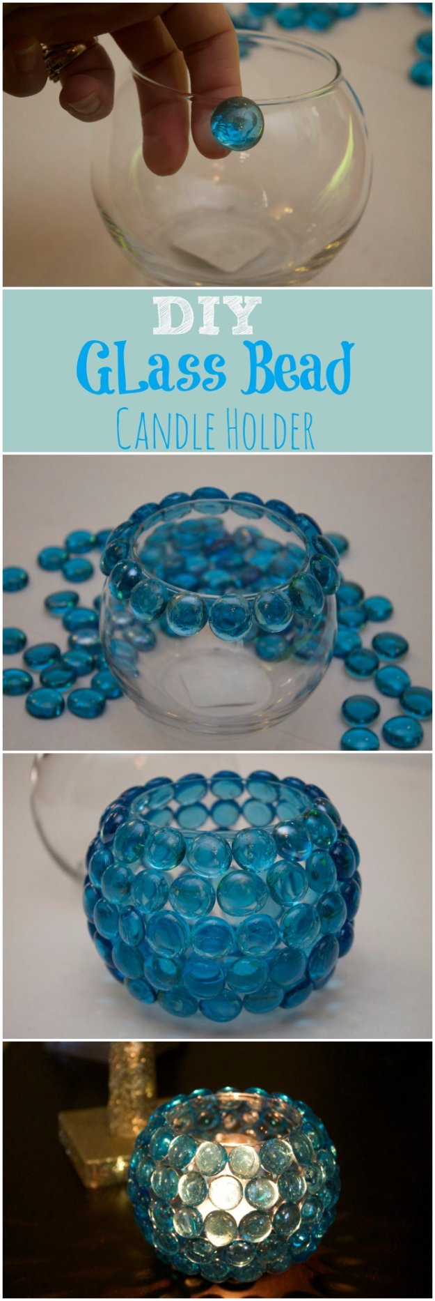 Amazing Glass Bead Vase