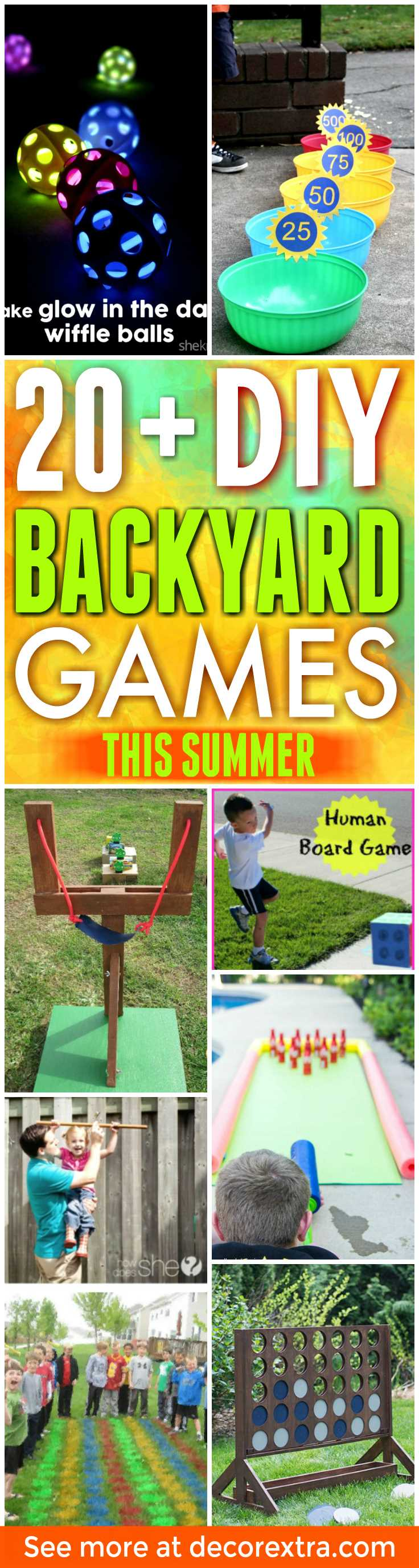 20 insanely fun diy backyard games perfect for summer decorextra