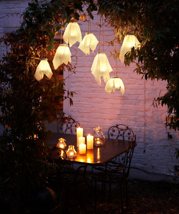 Homemade Simple Garden Lights