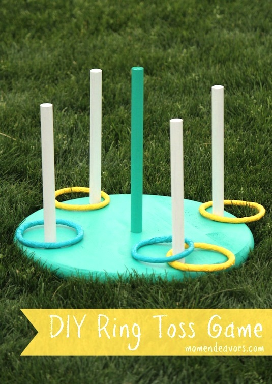 DIY Ring Toss Game, DIY Backyard Games Perfect For Summer