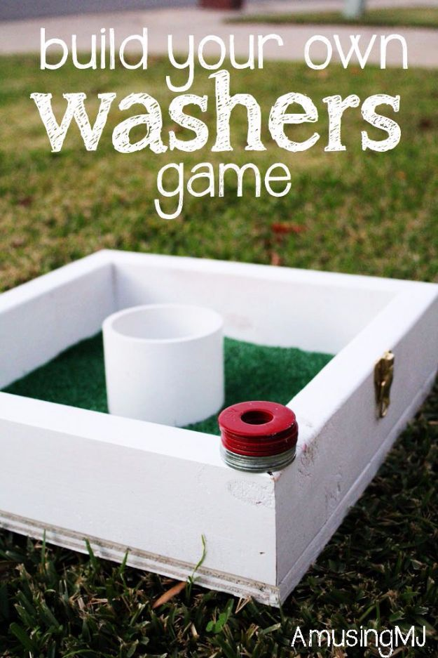 DIY Washers Game, DIY Backyard Games Perfect For Summer